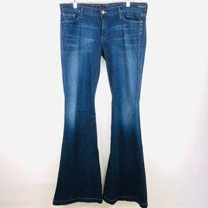 Goldsign Bell Bottom Flare Jeans Virginia 32